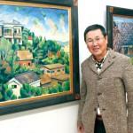 堤慶さん  郷土の景色描き半世紀