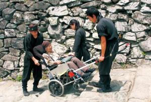 階段も忍者が登城を支援_dc