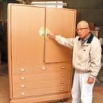江戸時代から伝わる桐たんす 和歌山市 シガ木工の工場見学