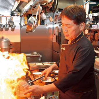 地元食材であっさり中華〜中国酒家くぅくぅ  明渡修さん