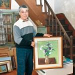 郭家で初の絵画展 公的保存へ足がかり