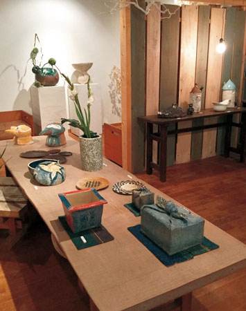八幡工房陶芸教室展