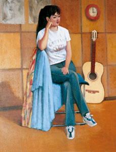 人物画を描きたい コスモスの会洋画展
