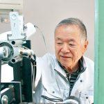 81歳発明家 谷池繁さん ブラシ製造機械開発