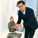 県立博物館にさわれる仏像