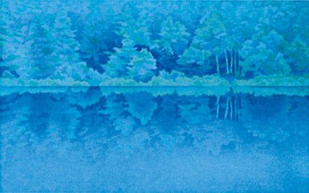 東山魁夷、平山郁夫の絵画
