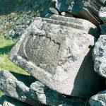 石垣に織豊時代の名残り