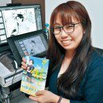 海南市の漫画家 西岡さちさん初単行本