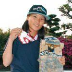 スケートボード日本選手権 四十住選手が準V