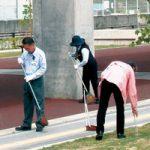 清掃で地域貢献〜相互タクシーと太洋工業