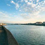 和歌川河口に魅せられて