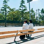 日本一長い? ベンチ登場
