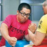 全日本Jrアームレスリング 中島選手V