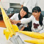 桐蔭中学校科学部 水ロケット世界大会へ