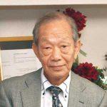 薮添泰弘さん 日米協会100周年の記念表彰