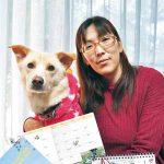 ボランティア犬 カレンダーと手帳発売