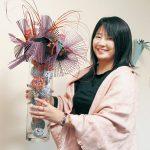フラワーデザイナー太田さん 展示会で連続入賞