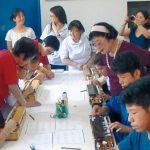 大正琴で日系ブラジル人と交流17年