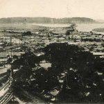 紀州百景④和歌山城からの眺め(大正)