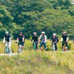 花王 自転車通勤で健康づくり
