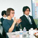 青少年の育成 外国人と討論