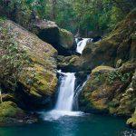 滝物語㉗ 滝壺と神社 守る狛犬〜薬師の滝(かつらぎ町)