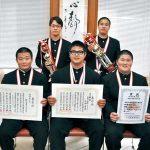 全国高校相撲選抜 和商の花田選手V