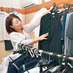 制服リユースで母親応援 和歌山市の竹内千富さん