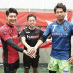 フットサル関西選抜 セットスターから2選手