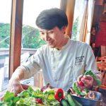 地元食材の力引き出す〜日進月歩-cuisine 店主 道脇勇気さん(38)