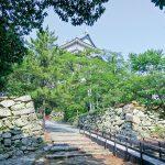 大手門から天守への道 連続する城門と枡形空間