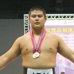 世界ジュニア相撲V 和商2年の花田選手
