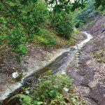 滝物語㊾ 一枚岩を流れる渓流瀑〜ナメトコ(滑床)の滝(古座川町)