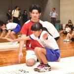 田中3きょうだい 地元で体操教室