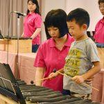 備長炭の澄んだ音色 炭琴演奏と体験会