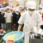 四箇郷小学校 和歌山ラーメン老舗製麺所見学