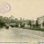 紀州百景㉝ 電車開通前の和歌道(明治)