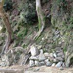 城に残る昭和の歩み〜市電軌道石や防空壕跡