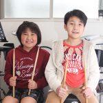 小学生ドラマー 安村さんと川口くん日本一