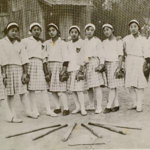 野球王国 かつては女子も