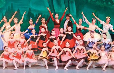 竹取物語 バレエで表現〜アーツクラシックバレエ発表会