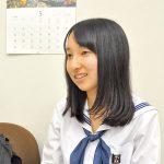 桐蔭高2年 河合涼香さん 〝高校生外交官〟として渡米