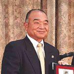 日本テニス協会表彰 山田守さん 個人功労賞