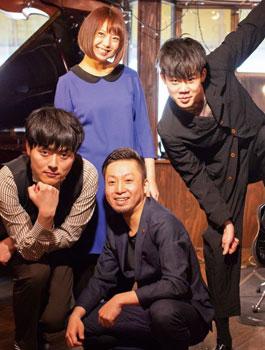中島朱葉擁する.Push(ドットプッシュ)セカンドアルバムリリースツアー〜濃いめに作って倍Push