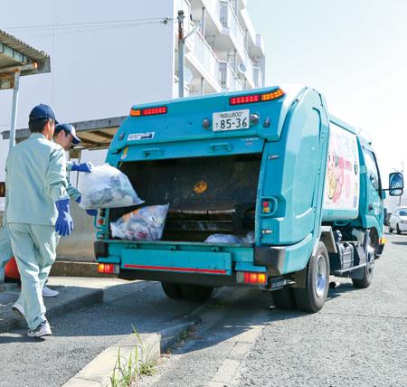 車 音楽 収集 ゴミ