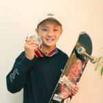 スケートボード 甲斐穂澄選手 小6でプロ資格ゲット