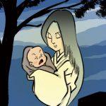 妖怪大図鑑〜其の百七拾五 子育て幽霊