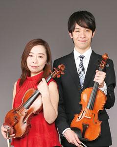 2台のヴァイオリン演奏〜ha─momiファーストライブ➡中止になりました