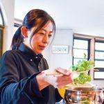 体整える食材ふんだんに〜精進カフェ ふぉい店長 杉山由岐子さん