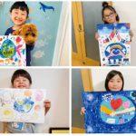 子どもたちが描く未来の地球